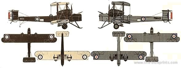 Vickers Vimy Mk IV , 1918 (terminado 27-03-13) Vickers-vimy-mkiv_zps8f3409b9