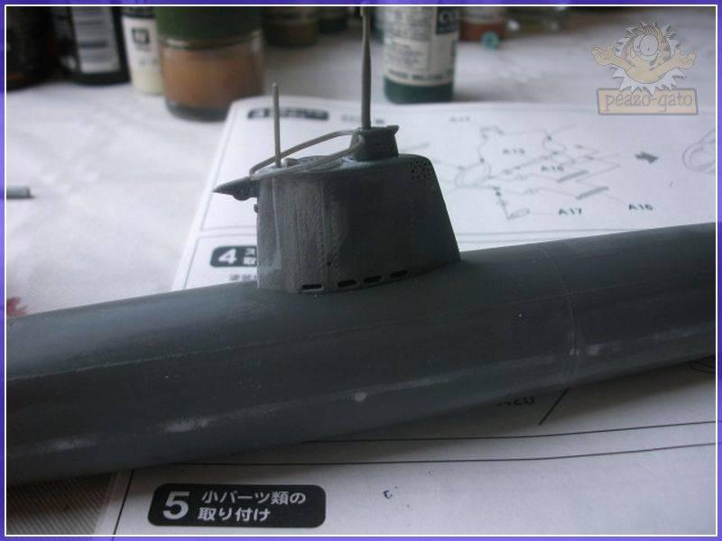 HA-19 Type A , Pearl Harbor (fine Molds.1/72.FS2)terminado 26-05-12 22HA-19peazo-gato