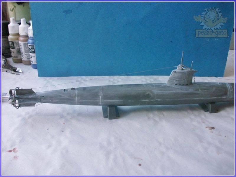 HA-19 Type A , Pearl Harbor (fine Molds.1/72.FS2)terminado 26-05-12 40HA-19peazo-gato