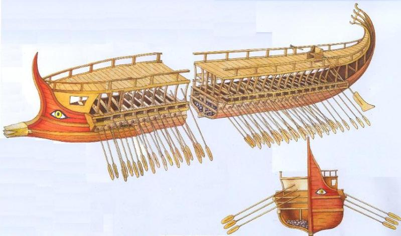 Trirreme Griega 480 a.C Trirreme3