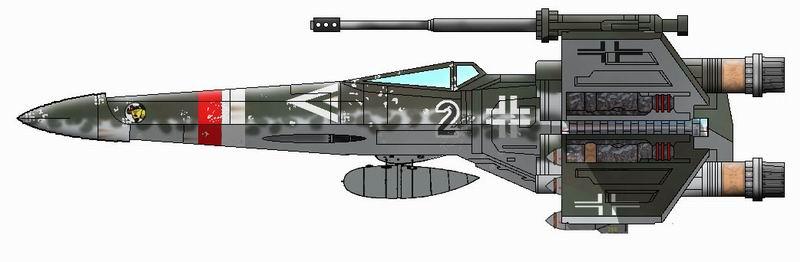 X-Wing del 4º Reich Xwingluft