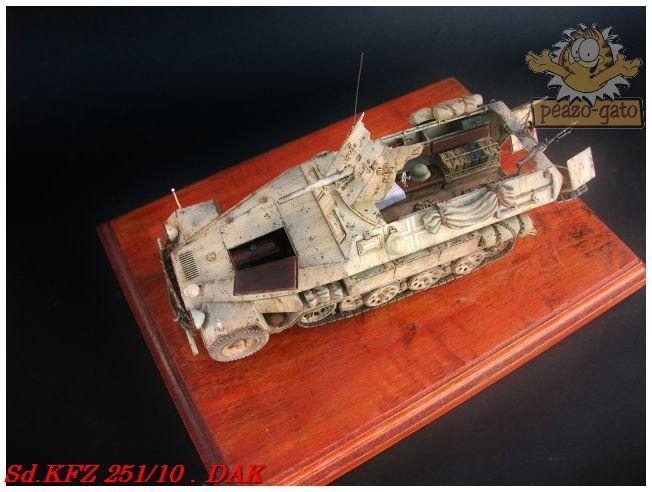 SD.KFZ 251/10 ausf B , DAK 139SdKFZ251-10peazo-gato