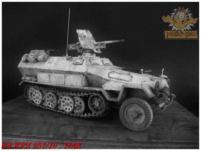 SD.KFZ 251/10 ausf B , DAK 148SdKFZ251-10peazo-gato