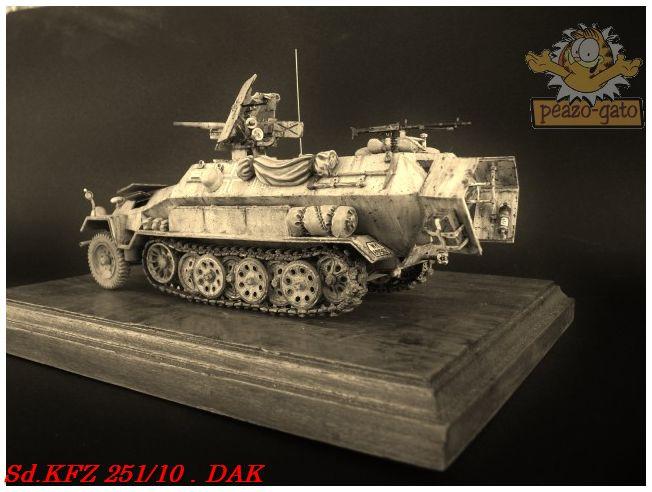 SD.KFZ 251/10 ausf B , DAK 150SdKFZ251-10peazo-gato