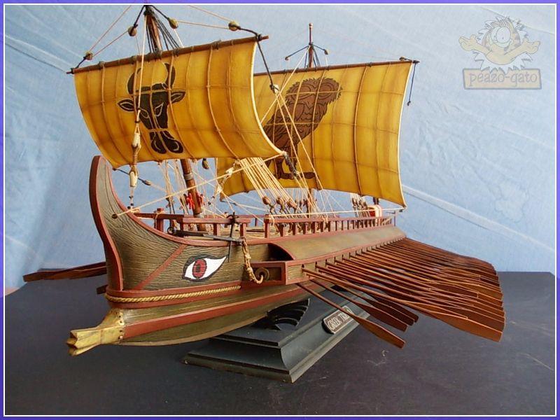 Trirreme Griega 480 a.C 194trirremepeazo-gato