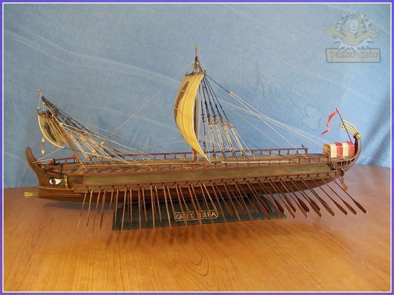 Trirreme Griega 480 a.C 200trirremepeazo-gato