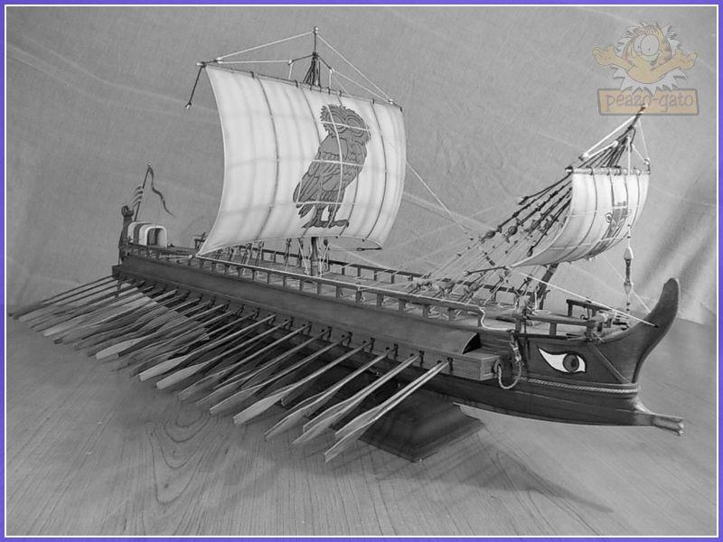 Trirreme Griega 480 a.C 204trirremepeazo-gato