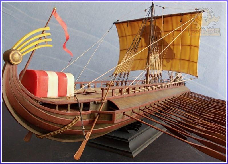Trirreme Griega 480 a.C 206trirremepeazo-gato