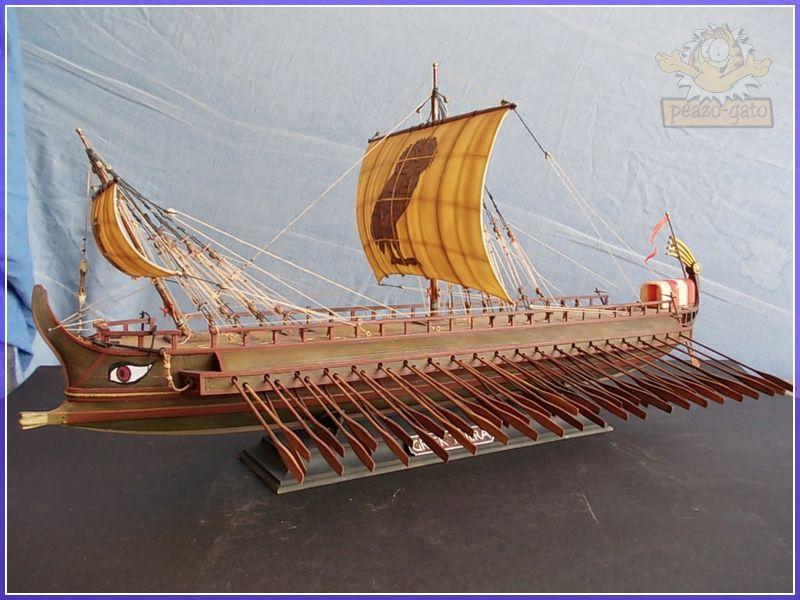 Trirreme Griega 480 a.C 208trirremepeazo-gato