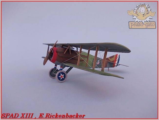 Spad XIII , E. Rickenbacker 29ordmSPADXIIIpeazo-gato_zps91e6d9b1