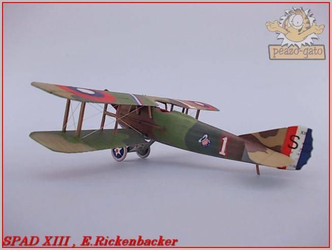 Spad XIII , E. Rickenbacker 30ordmSPADXIIIpeazo-gato_zps7e582b8d