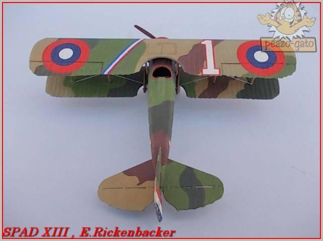 Spad XIII , E. Rickenbacker 31ordmSPADXIIIpeazo-gato_zpsc74dd995