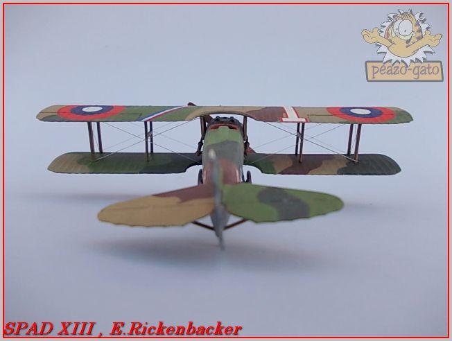 Spad XIII , E. Rickenbacker 32ordmSPADXIIIpeazo-gato_zps906e4b6a