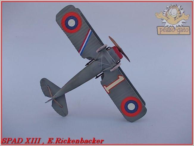 Spad XIII , E. Rickenbacker 36ordmSPADXIIIpeazo-gato_zps1cbea7d9