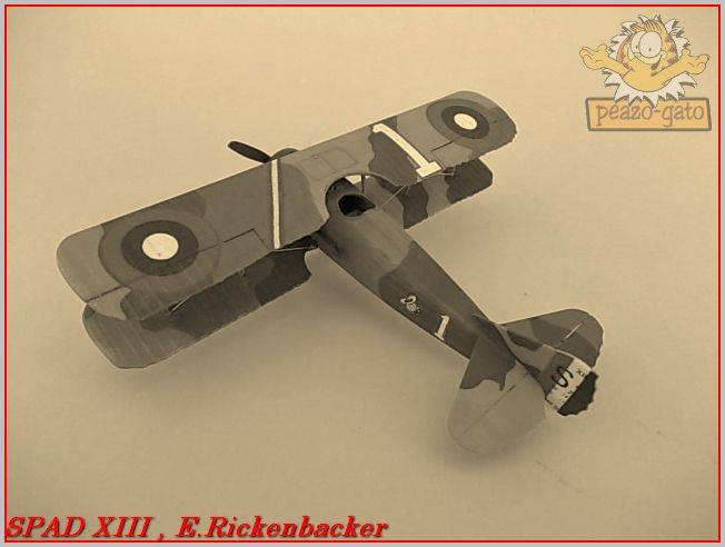 Spad XIII , E. Rickenbacker 37ordmSPADXIIIpeazo-gato_zps045730a9