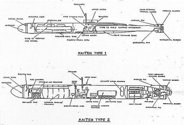 Kaiten Type 1 (finemolds.1/72.) Torpedokaitenschematics1