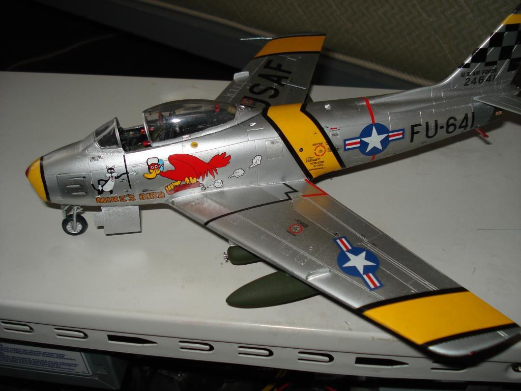F-86 1/48 academy Aμερικανικο Κορέα 1953,  Ελληνικό Βασιλική Αεροπορία 1954 DSC05415_zps1c80b18f