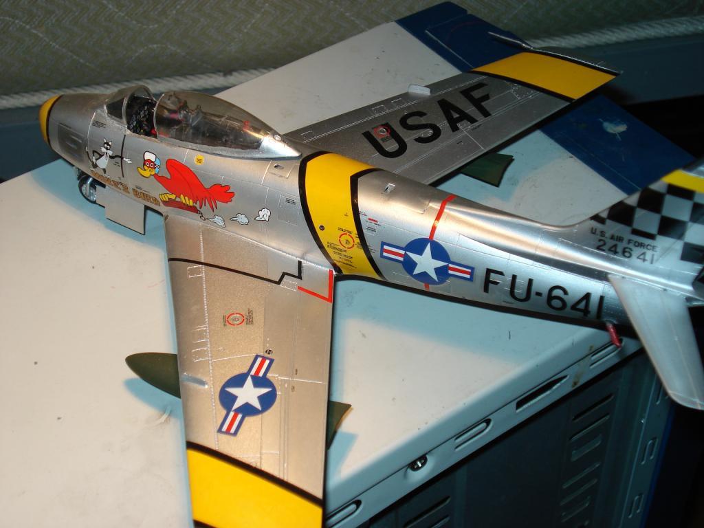 F-86 1/48 academy Aμερικανικο Κορέα 1953,  Ελληνικό Βασιλική Αεροπορία 1954 DSC05423_zps73ba9258