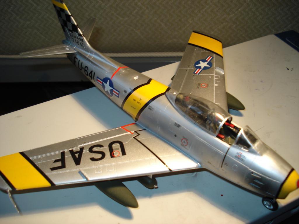 F-86 1/48 academy Aμερικανικο Κορέα 1953,  Ελληνικό Βασιλική Αεροπορία 1954 DSC05426_zps6c3cf2cb
