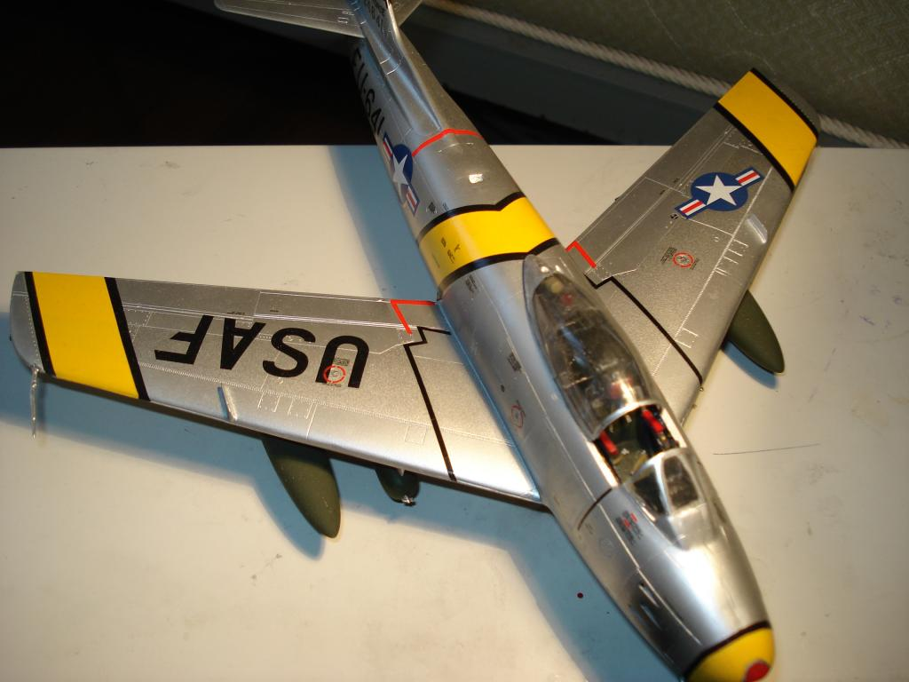 F-86 1/48 academy Aμερικανικο Κορέα 1953,  Ελληνικό Βασιλική Αεροπορία 1954 DSC05427_zps292e546c