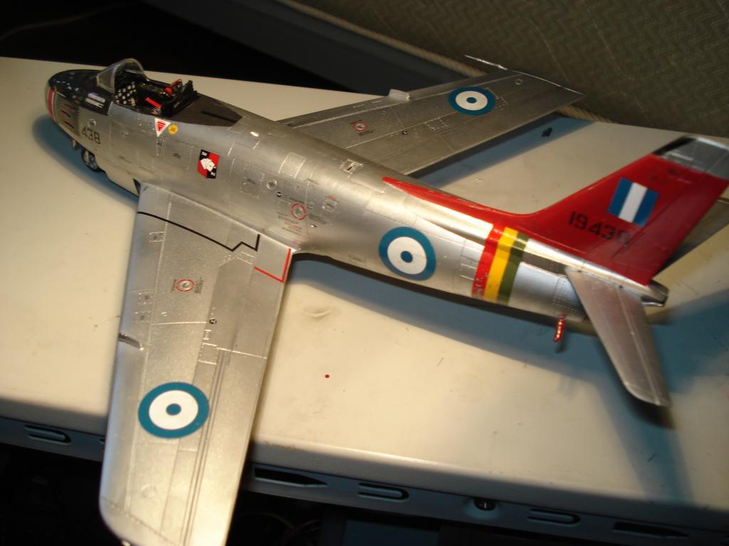 F-86 1/48 academy Aμερικανικο Κορέα 1953,  Ελληνικό Βασιλική Αεροπορία 1954 DSC05435_zps40227241