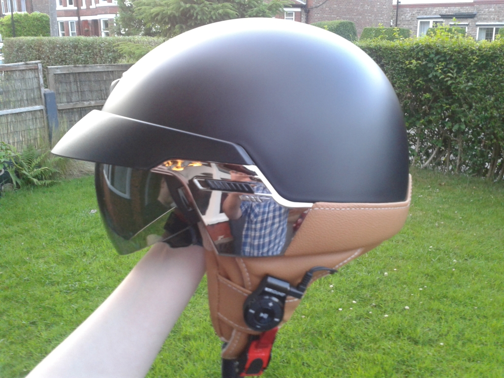 New helmet & another go at cheapo bluetooth 20130701_212102