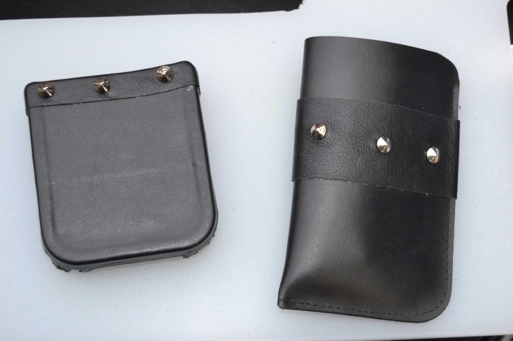 Leather Screen Pouch Fitted .......... 2005 Suzuki M800  Intruder  Access