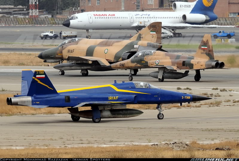 Iran Airforce, recently taken