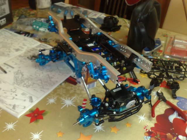 CR-01 FULL OPTION (ALUMINIO) By M A R T I N C I K O Patrick-TamiyaCR-01035