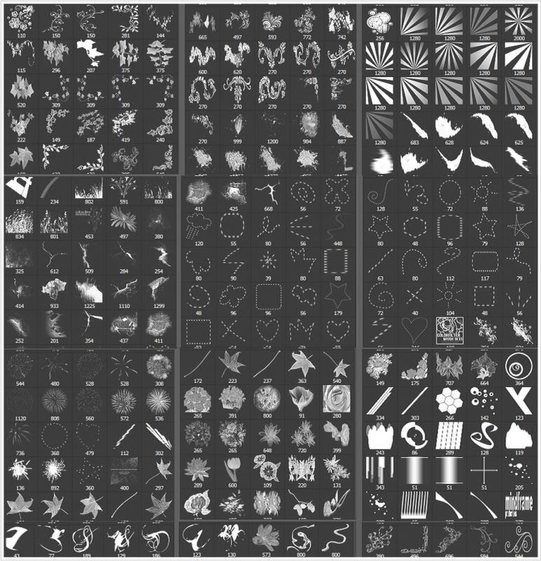 تجميعه فرش بأشكال متنوعه للفوتوشوب B1