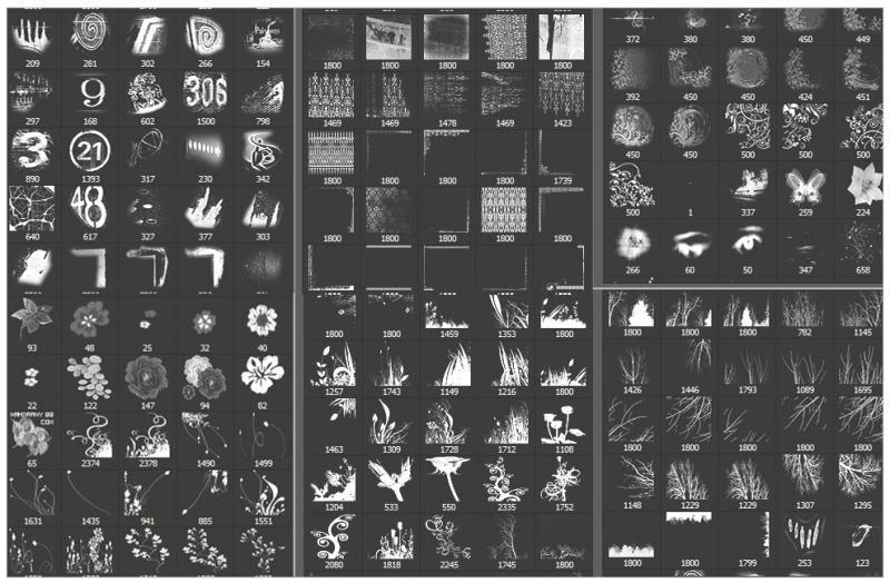 تجميعه فرش بأشكال متنوعه للفوتوشوب B3