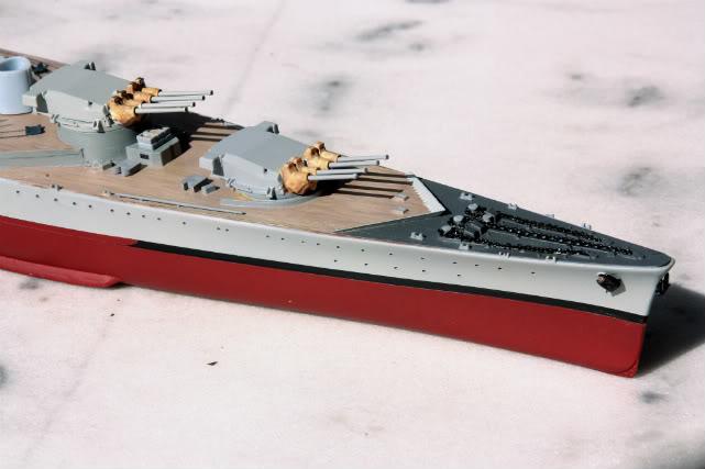 Dunkerque heller 1/400 Dunkerquehelleravant