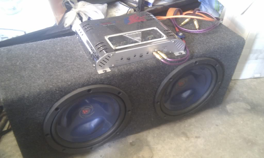 Cheap sub and amp package! IMAG0279