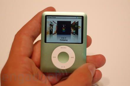 Ipod Nano 8GB 3rd Gen Ipod-nano