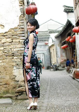 Xường xám   旗袍   チャイナドレス   Cheongsam 4580775572a5b978574e0023