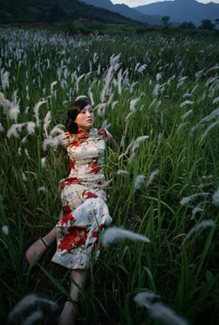 Xường xám   旗袍   チャイナドレス   Cheongsam 75618c10ac9ad452cb80c42e