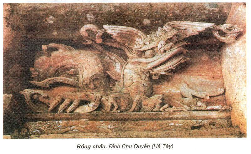 Điêu khắc rồng VN DinhChuQuyen