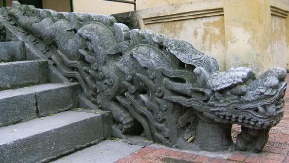 Điêu khắc rồng VN H009