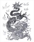 Điêu khắc rồng VN H012