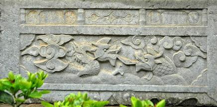 Điêu khắc rồng VN H072