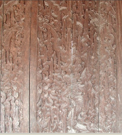 Điêu khắc rồng VN H104