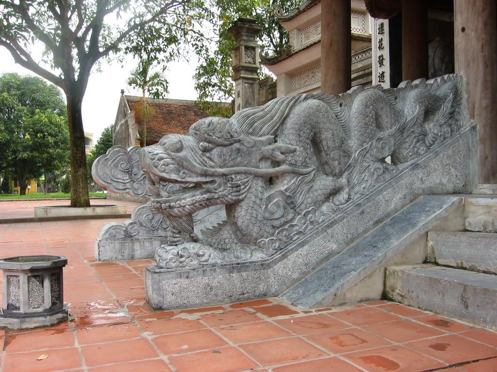 Điêu khắc rồng VN Ngulongmon4