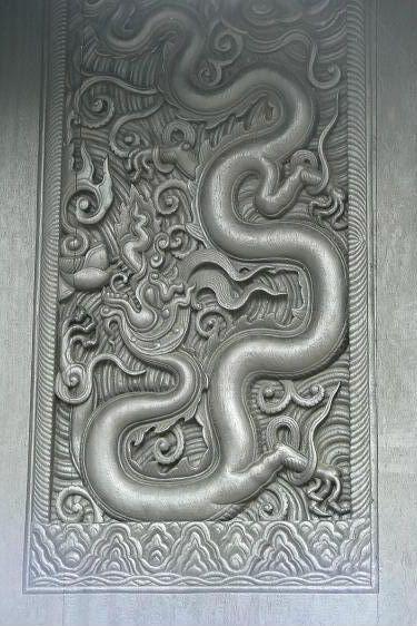 Điêu khắc rồng VN Varong