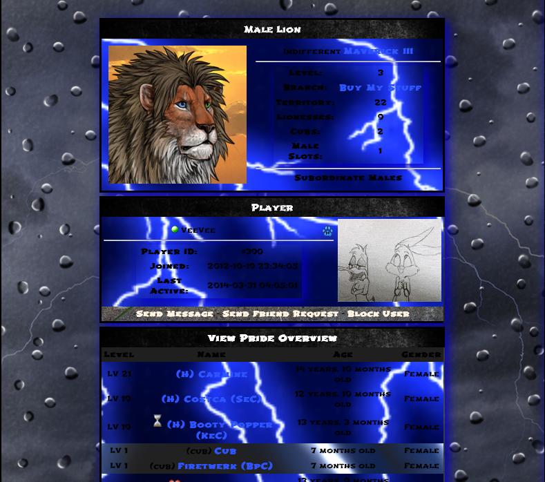 Así que, ¿te gustan los juegos de leones realistas? ¡Conoce Lioden! Lioden7_zps5d0ee321