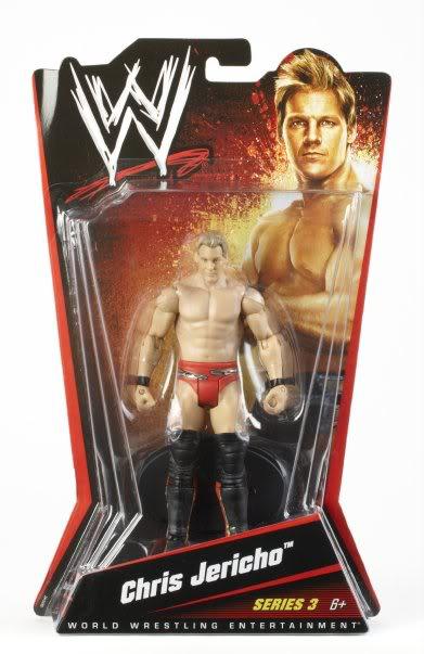 WWE Basic Figures Série 003 (2010) JerichoMoc