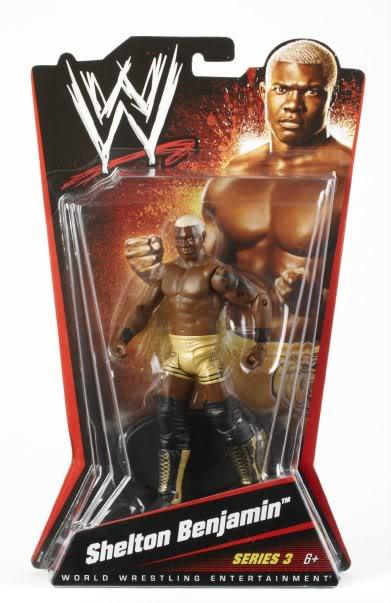 WWE Basic Figures Série 003 (2010) SheltonMoc
