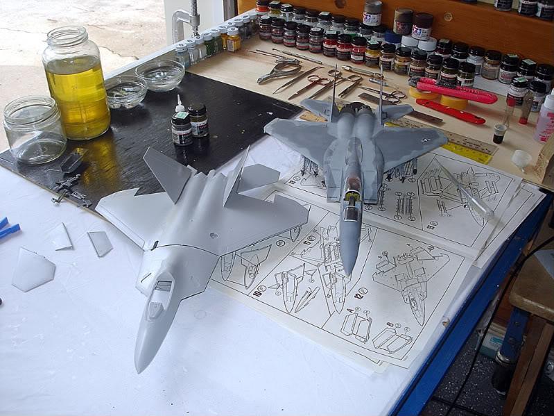 F-22 Raptor escala 1/48 Aviones1274