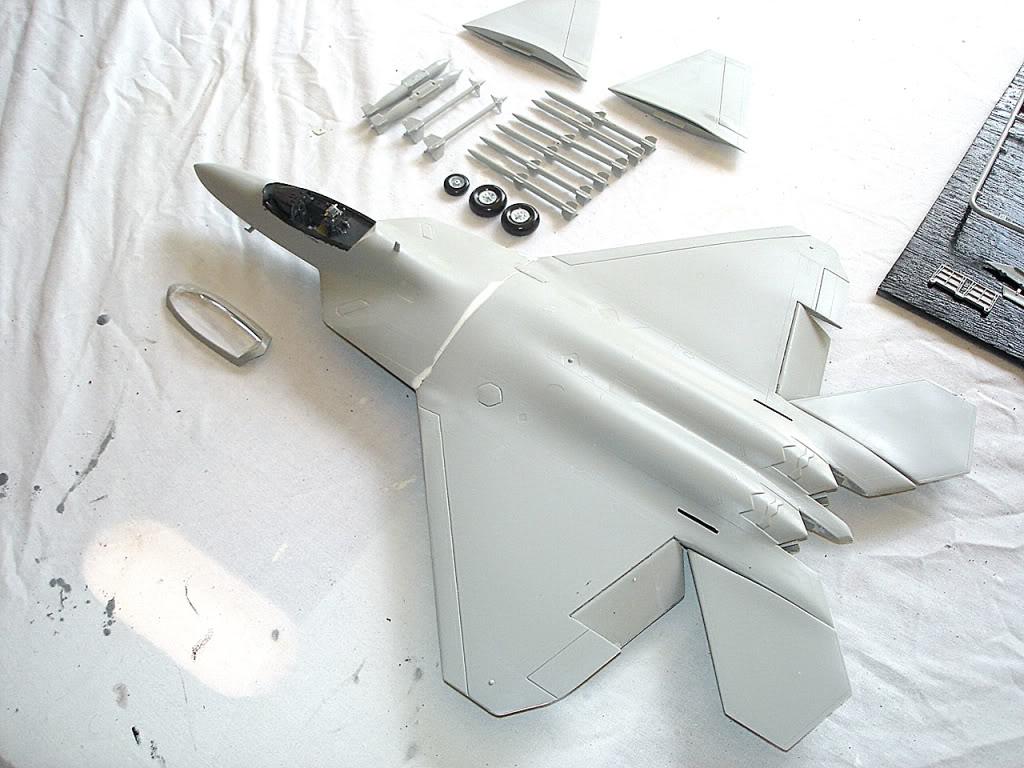 F-22 Raptor escala 1/48 Aviones1278