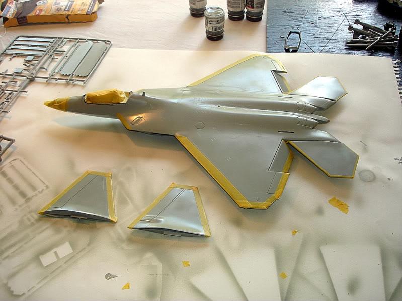 F-22 Raptor escala 1/48 Aviones1279