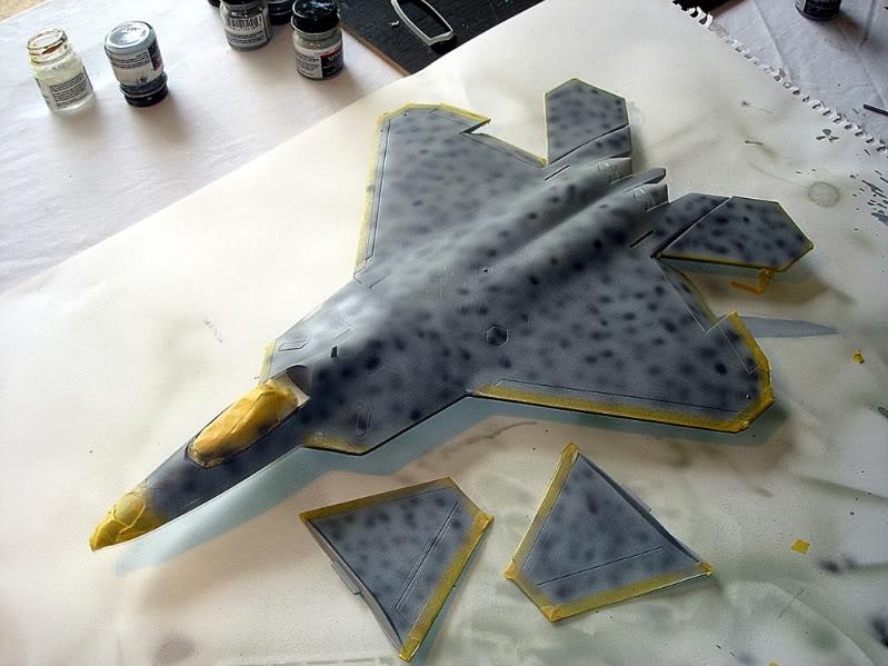 F-22 Raptor escala 1/48 Aviones1281
